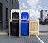 Hide Mülltonnenboxen Mülltonnenbox 140l Holz2er Box, 121x 63,4x 115,2 cm (BxTxH) (2)