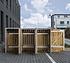 Hide Mülltonnenboxen Mülltonnenbox 240l Holz3er Box, 209,1x 80,7x 115,2 cm (BxTxH) (2)