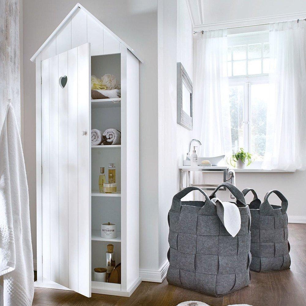 miaVILLA Badschrank Haus Weiß günstig online kaufen - Mein Schöner ...