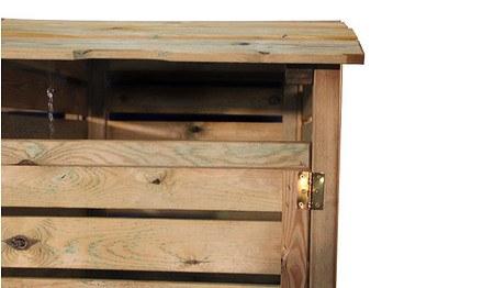 m lltonnen box aus holz 2er f r m lltonnen bis 240 liter g nstig online kaufen mein sch ner. Black Bedroom Furniture Sets. Home Design Ideas