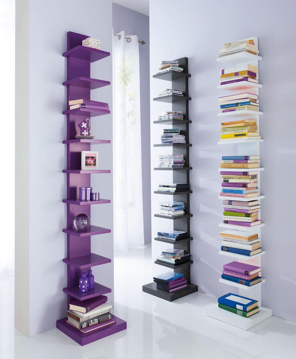 miavilla b cherregal zoey wei g nstig online kaufen. Black Bedroom Furniture Sets. Home Design Ideas