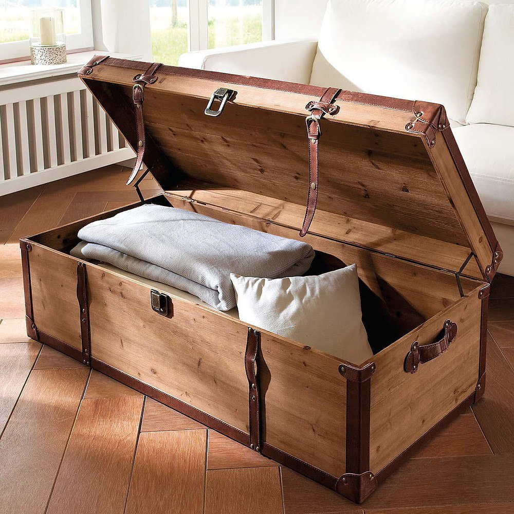 truhe als tisch simple sam couchtisch truhe x cm massive akazie natur christel mit couchtisch. Black Bedroom Furniture Sets. Home Design Ideas