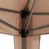 SIENA GARDEN Faltpavillon Starter, 3x3 m, grau/taupe (4)