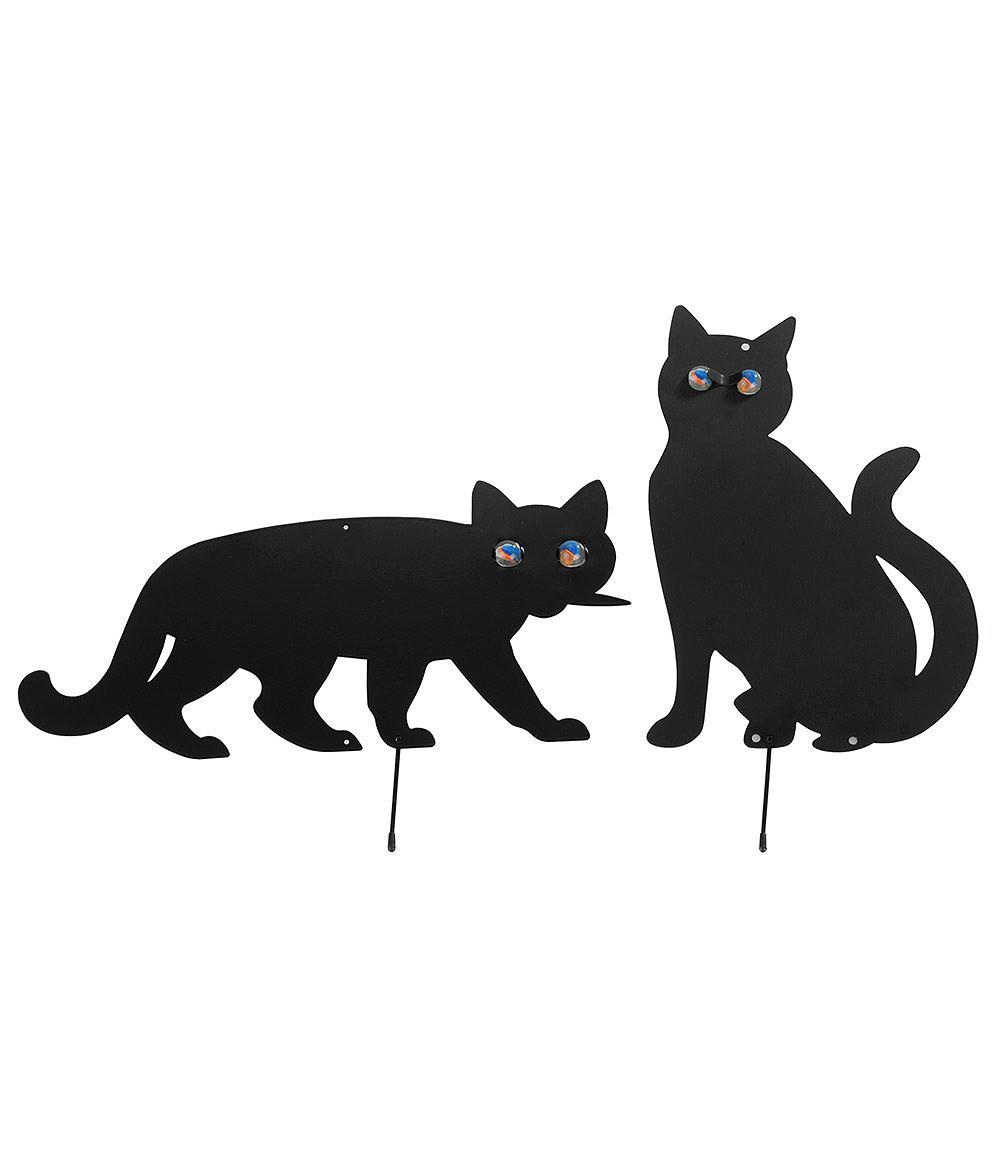 vogelschreck katzen 2er set 1 set g nstig online kaufen mein sch ner garten shop. Black Bedroom Furniture Sets. Home Design Ideas