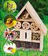 18er Bienen-Pflanzenmix mit Insektenhaus,1 Set (3)