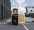Hide Mülltonnenboxen Mülltonnenbox 140l Holz1er Box, 60,4x 63,4x 115,2 cm (BxTxH) (3)