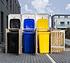 Hide Mülltonnenboxen Mülltonnenbox 140l Holz3er Box, 181,4x 63,4x 115,2 cm (BxTxH) (3)