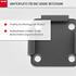 NOOR Bodenhalterung Adapter für Seitenmarkise Exklusiv (3)